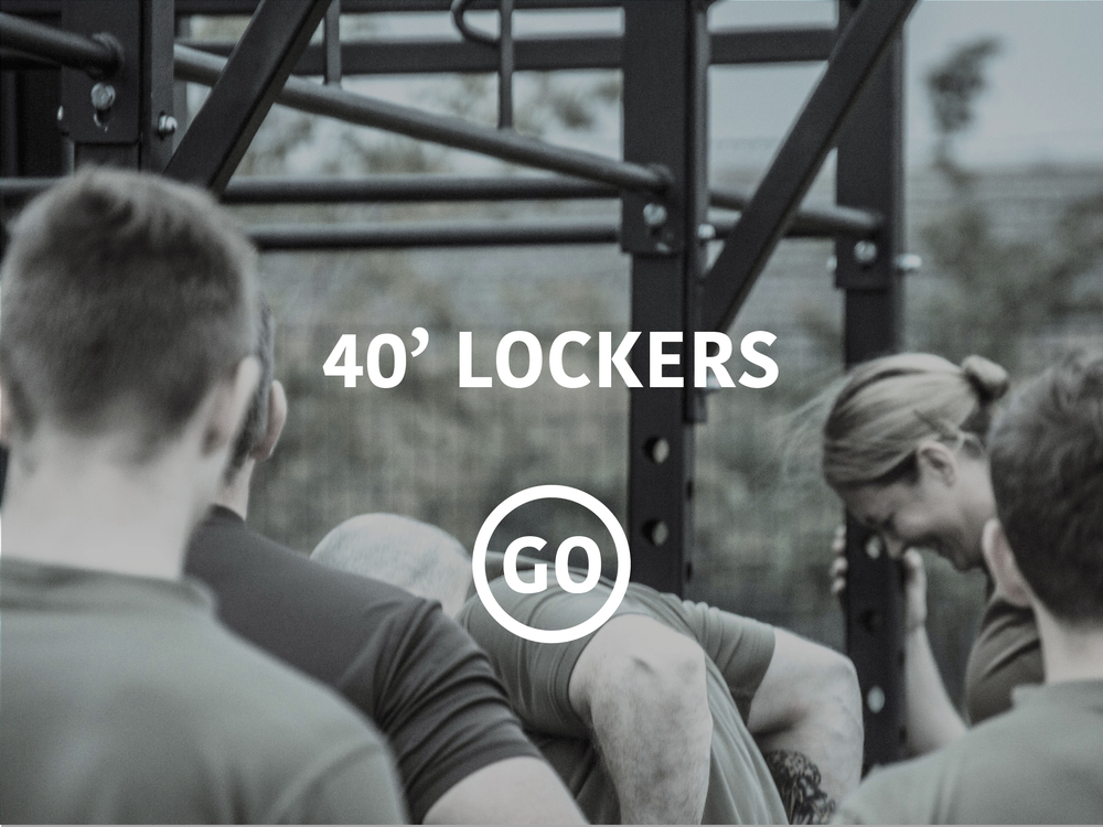 20' Lockers