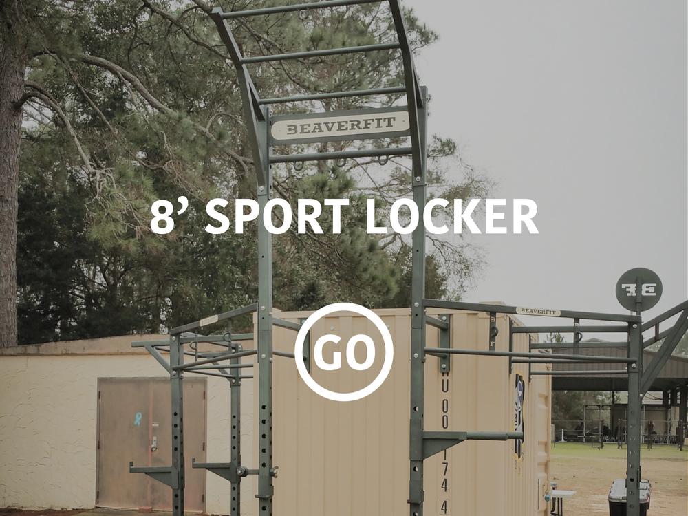 8' Sports Locker