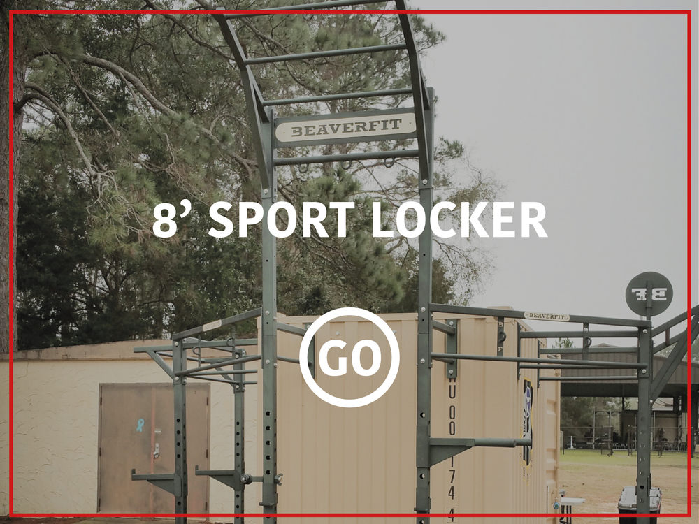 8' Sports Locker Active
