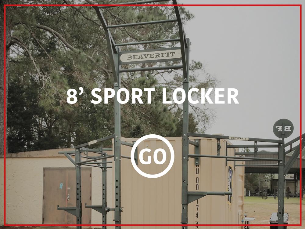 8' Sports Locker Active