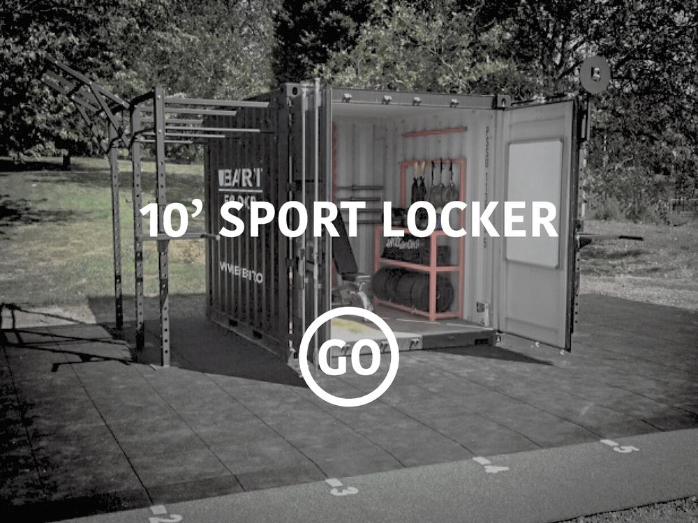 10' Sports Locker