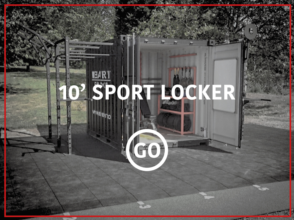 10' Sports Locker Active