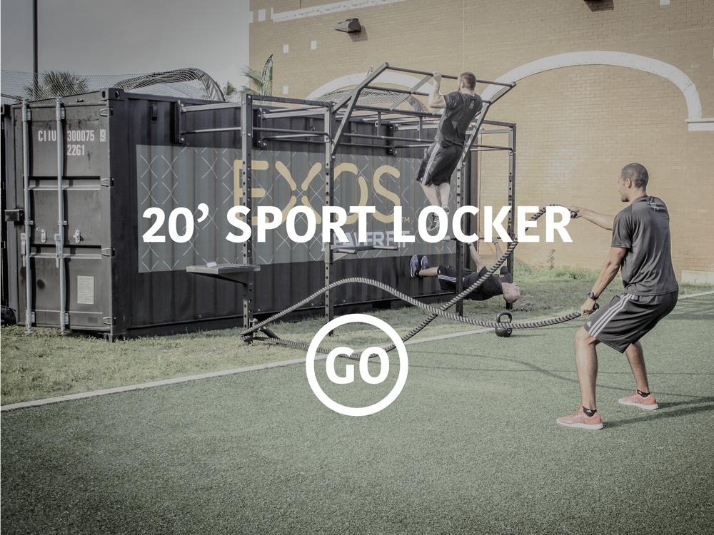 20' Sports Locker
