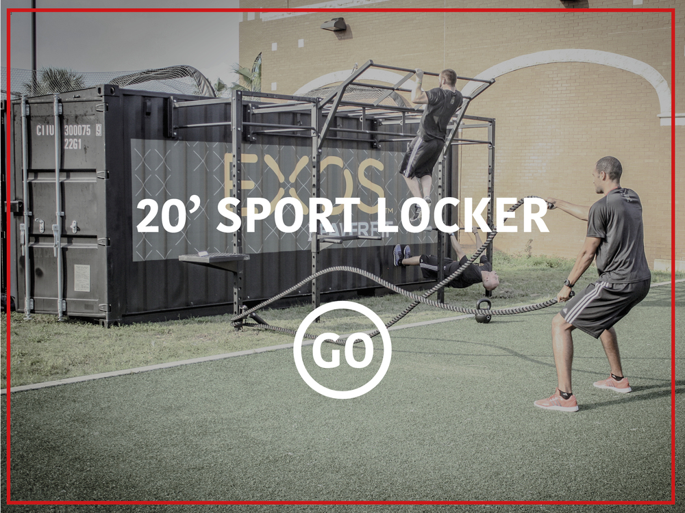 20' Sports Locker Active