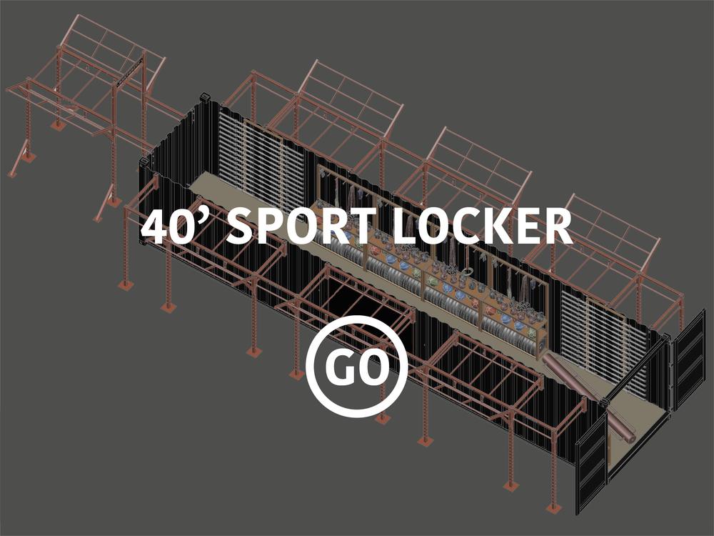 40' Sports Locker