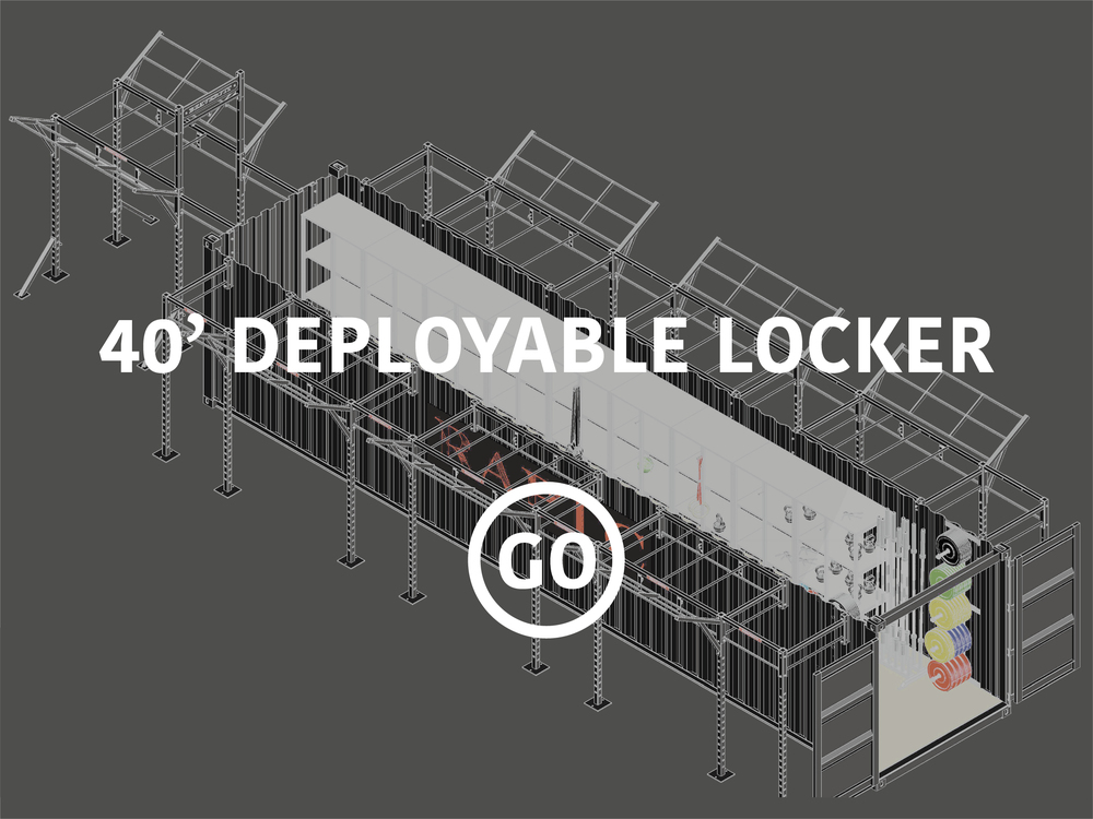 40' Deployable Locker