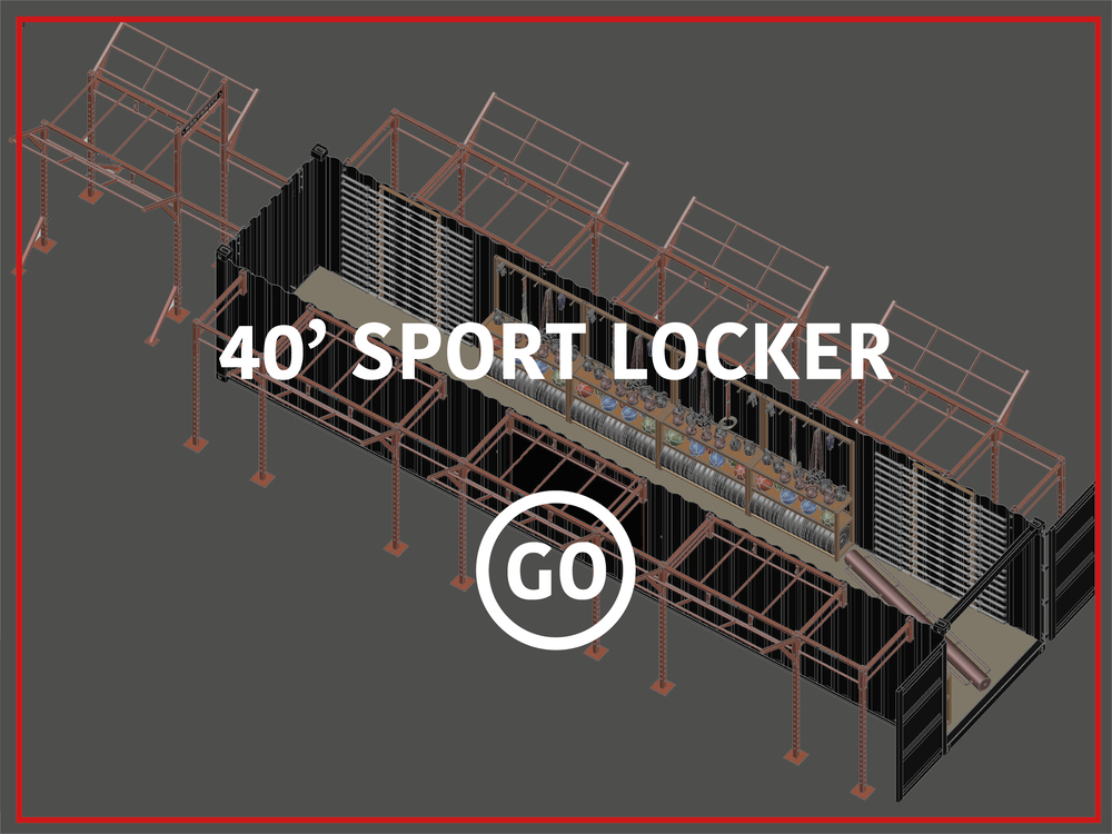 40' Sports Locker Active