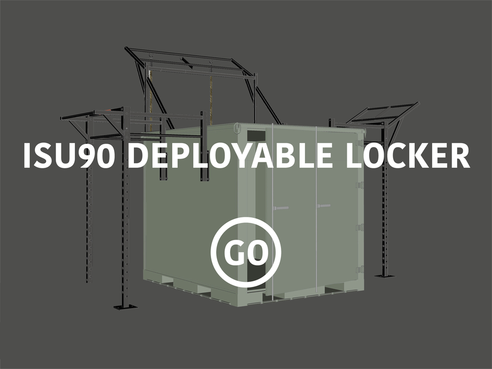 ISU90  Deployable Locker