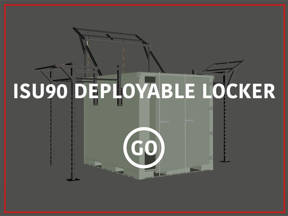 ISU90  Deployable Locker