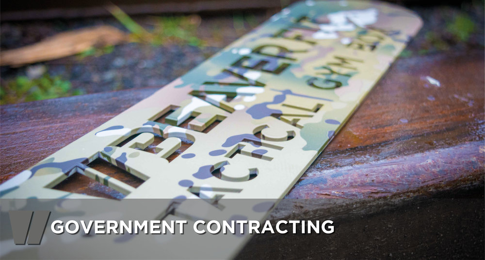 Government Contracting Main Header
