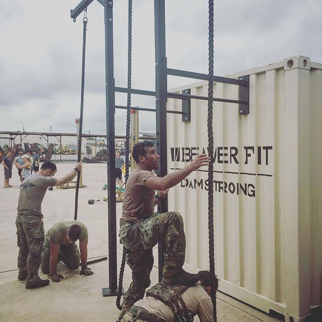 BeaverFit was the proud sponsor of the 2018 PJ Rodeo Monster Mash. Breaching doors, walls with 100LB med balls, tank sleds, farmer carry handles, rope climbs and the one and only High Striker were combined to create the ultimate ball buster for 2-member teams of PJs from across the globe. It was truly an amazing event and there was incredible energy and determination from the participants. Thank you to the PJ community for allowing us to be part of this PJ experience and this badass event. . . . #beaverfit #beaverfitusa #pararescue #pararescuemen #soothersmaylive #preparetrainexecute #tactical