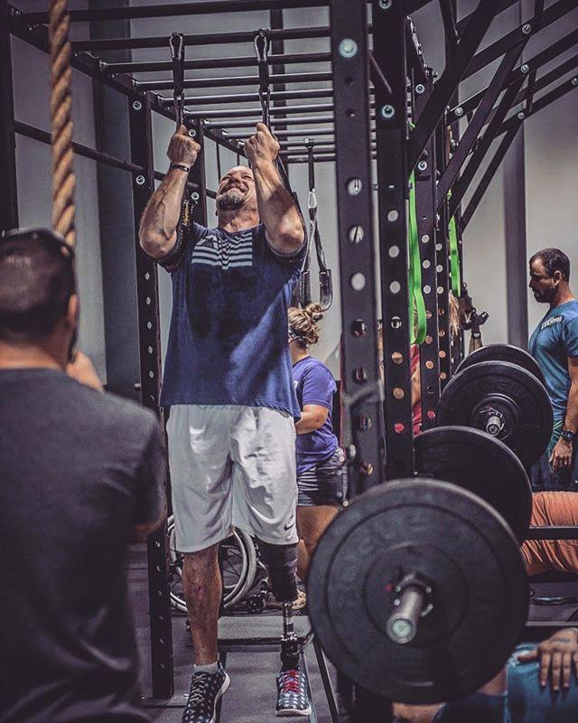 How hard are you training this Tuesday? . . . . #damstrong #beaverfit #beaverfitusa #adaptiveathlete #rig #functionalfitness #functionaltraining #preparetrainexecute