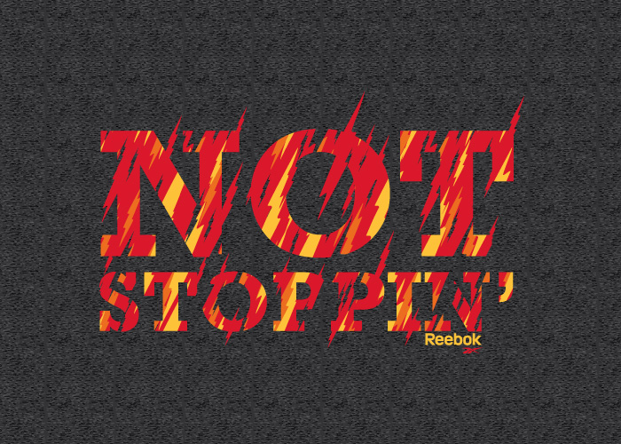 Reebok Not Stoppin Tee Graphic