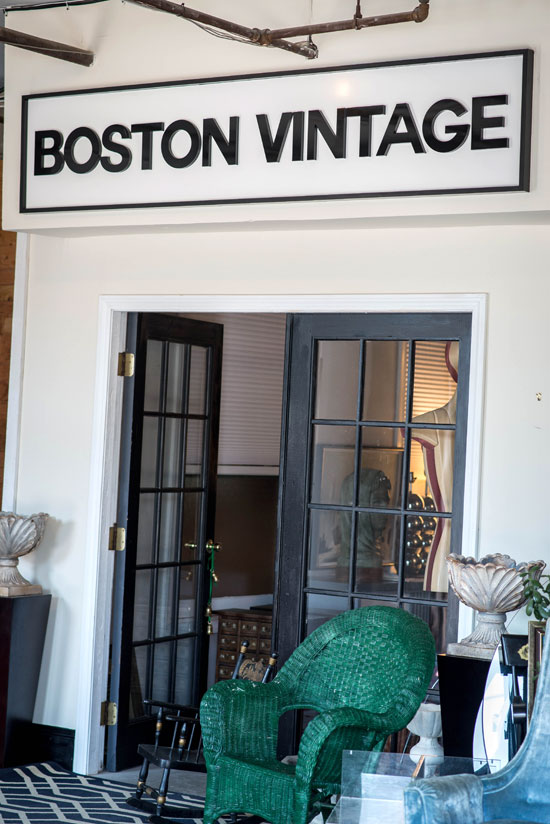 Boston Vintage Sign