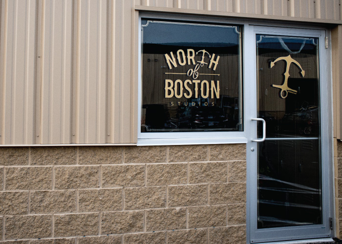 North of Boston Studios Window Vinyl