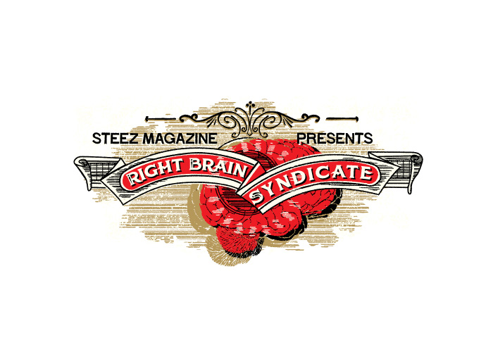 Steez Right Brain Syndicate Event Logo