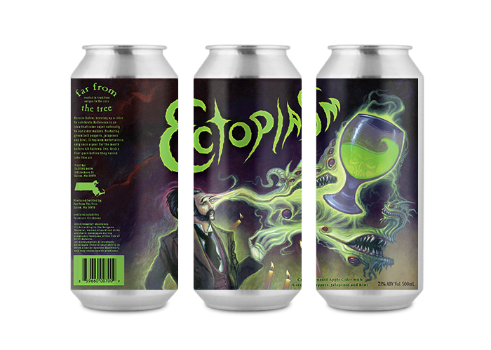 Far From the Tree / Ectoplasm - Cider Labels