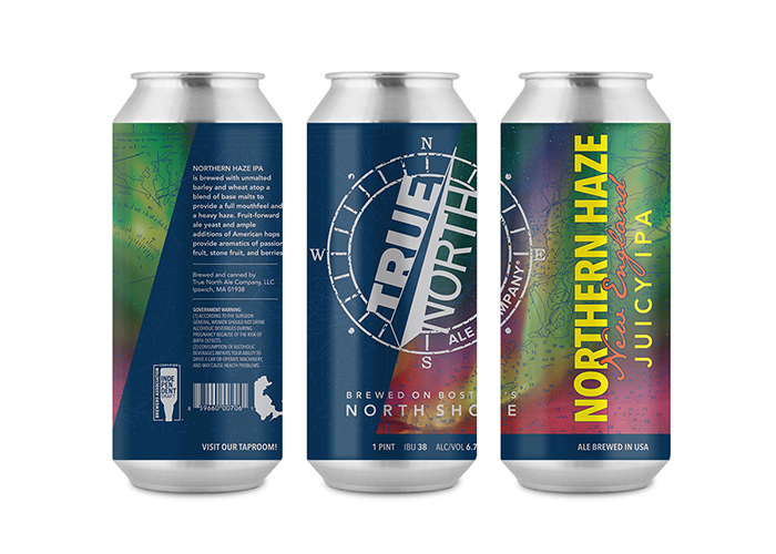 True North Ale Company / Haze - Beer Labels