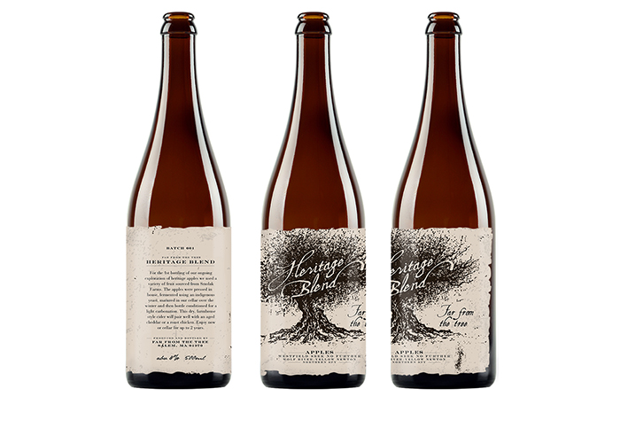 Far From the Tree / Heritage Blend - Cider Labels