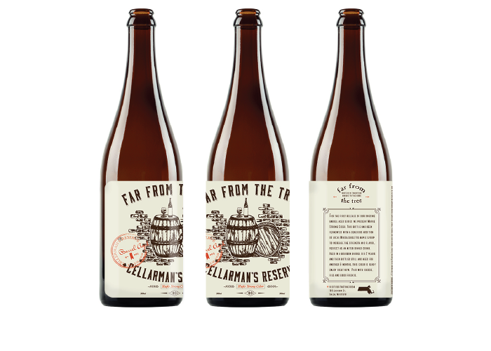 Far From the Tree / Cellerman's Reserve - Cider Labels