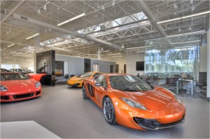 The Dimmitt Automotive Group's Rolls-Royce, Bentley and McLaren showroom