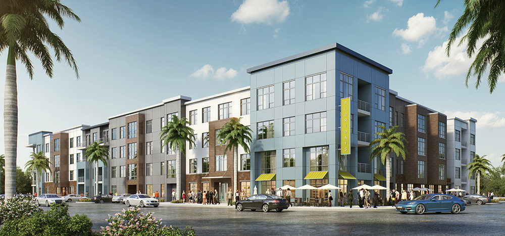 Floridays Apartments - Service - National Green Building Standard Certification: Multi-Family  (NGBS)351,885 sq/ft 309 units
