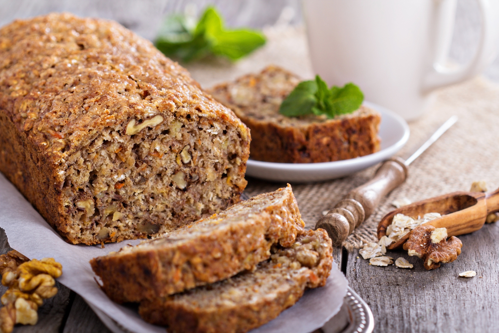 vegan banana bread gluten wheat