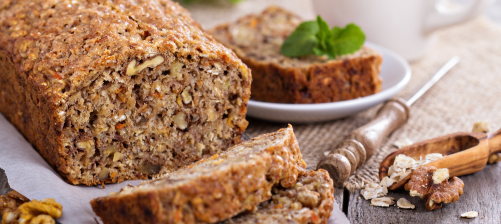 Banana Carrot Walnut Bread