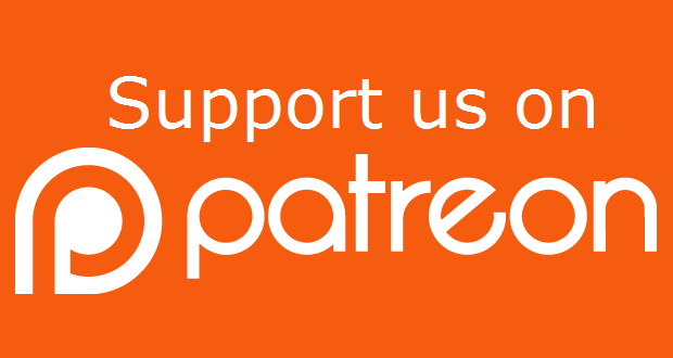 Help keep us going and receive additional Patreon ONLY content when you support us on Patreon! Click image to visit our Patreon site to learn more