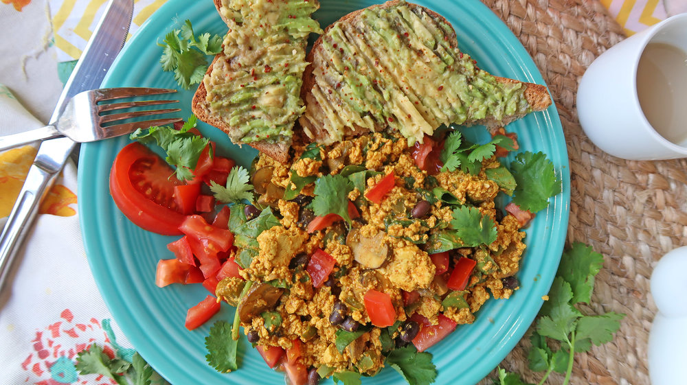 mexican tofu scramble top