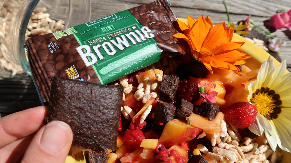 natures bakery brownie
