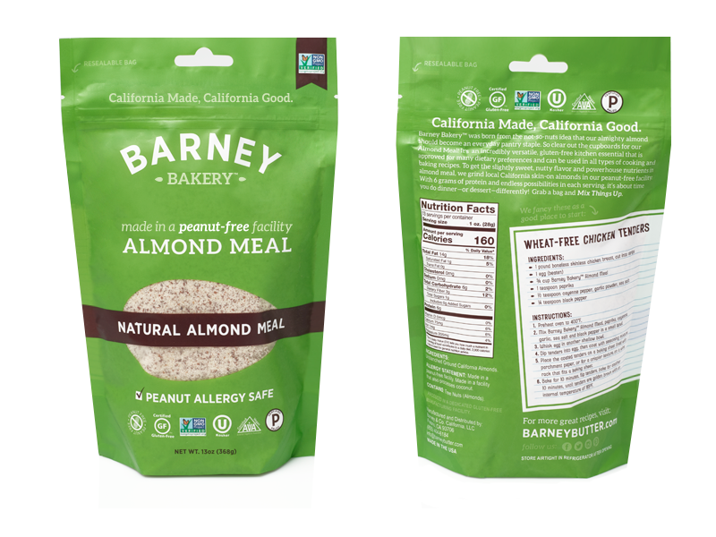 barney almond meal
