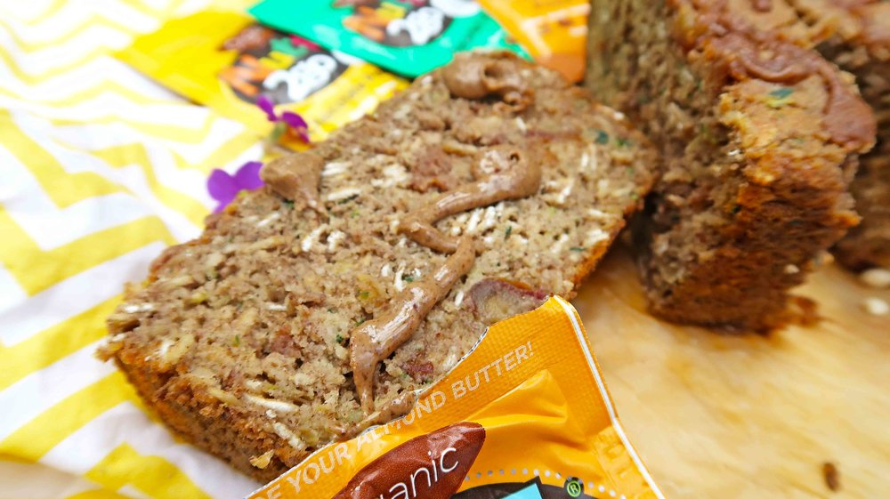 Zucchini NuttZo Bread Vegan Gluten Free 2
