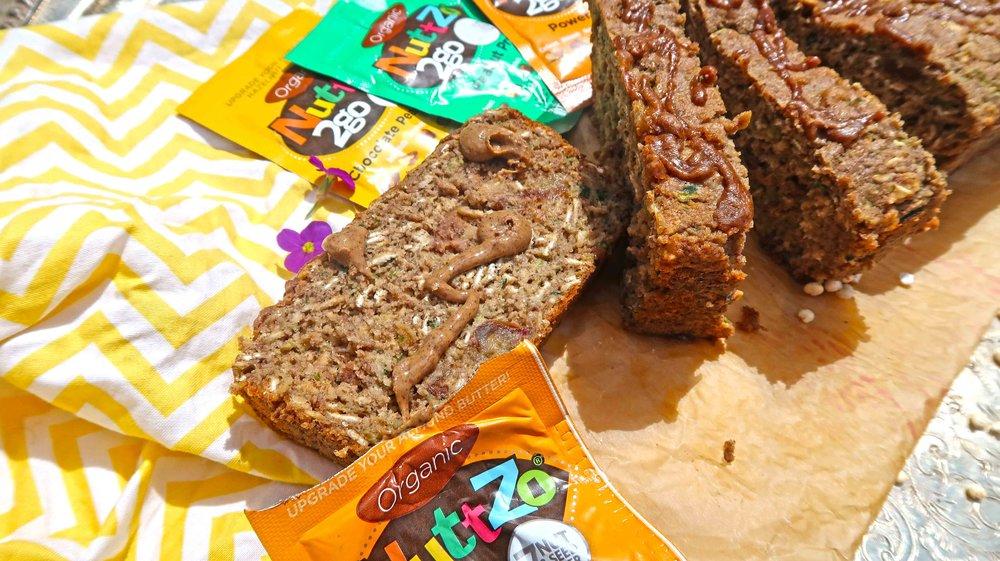 Zucchini NuttZo Bread Vegan Gluten Free 4