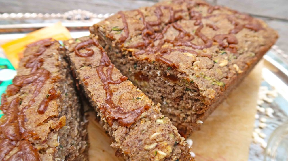 Zucchini NuttZo Bread Vegan Gluten Free 5