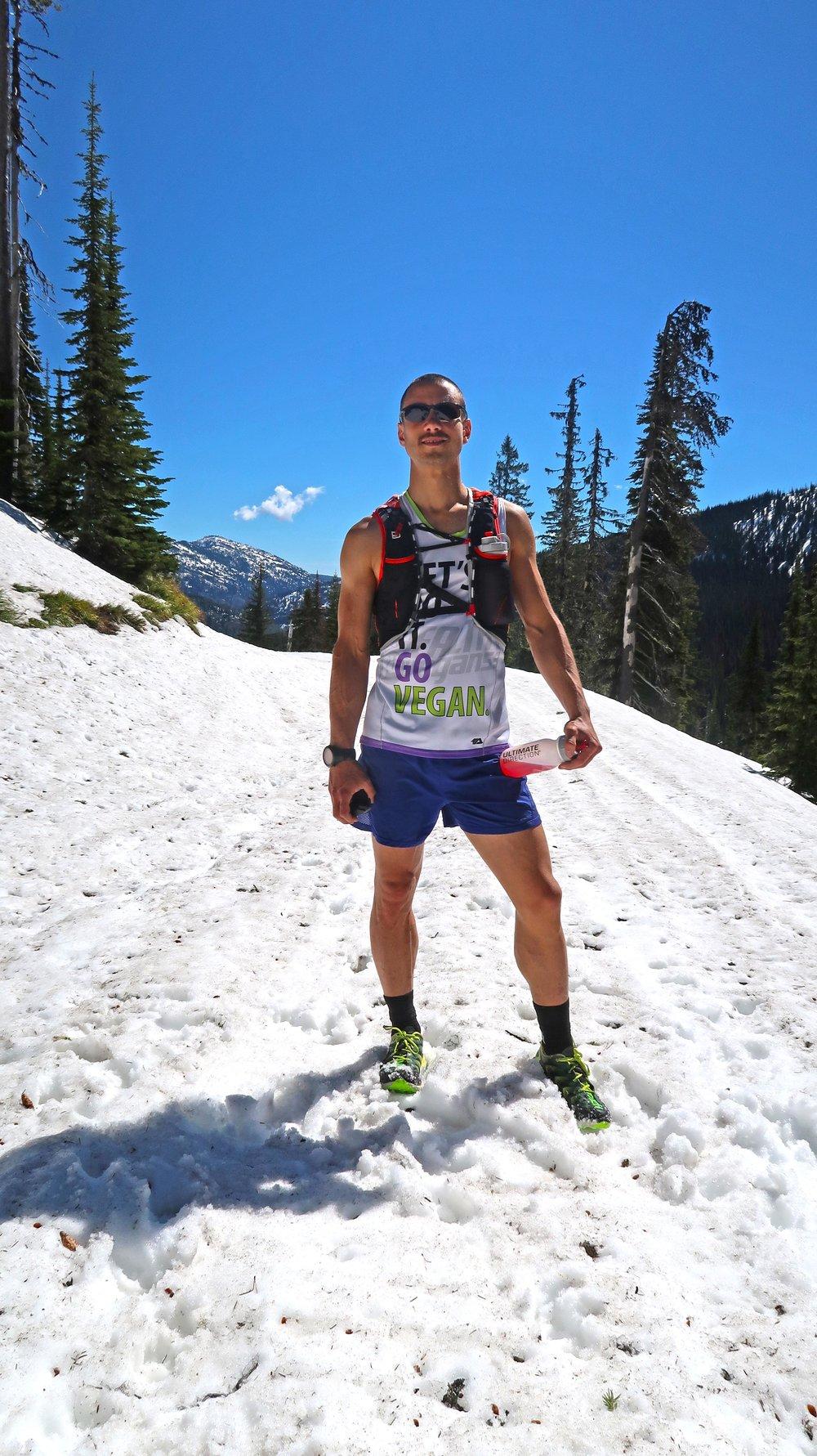 Gwen snow long run