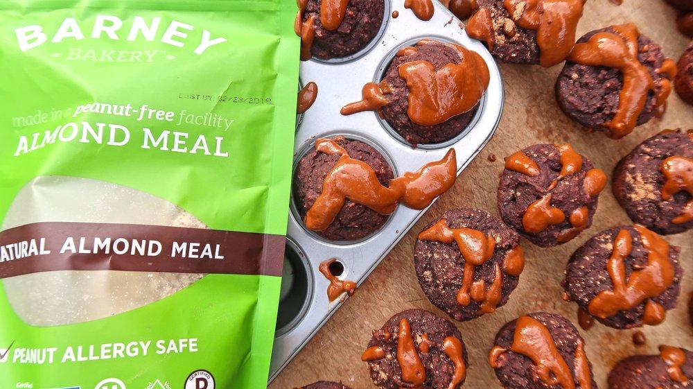 chocolate almond mudslide muffins plantpositiveRunning Vegan Gluten Free