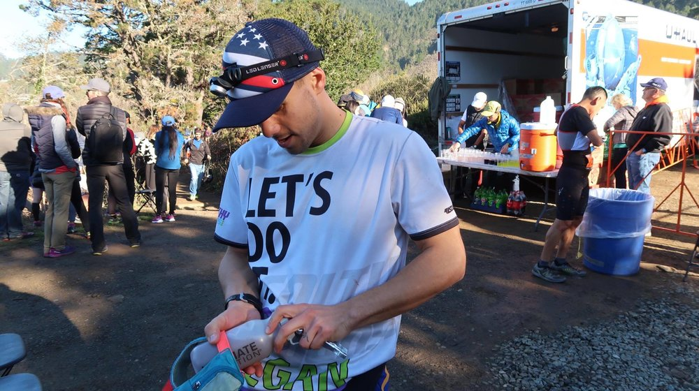 the north face 50 mile endurance challenge-2017-mile27.4 gwen at aid 1.jpg