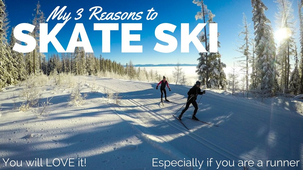3 reasons to skate ski