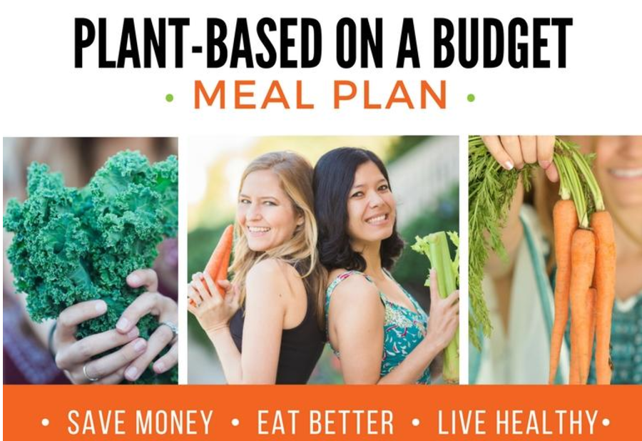 plant based on a budget - plant positive