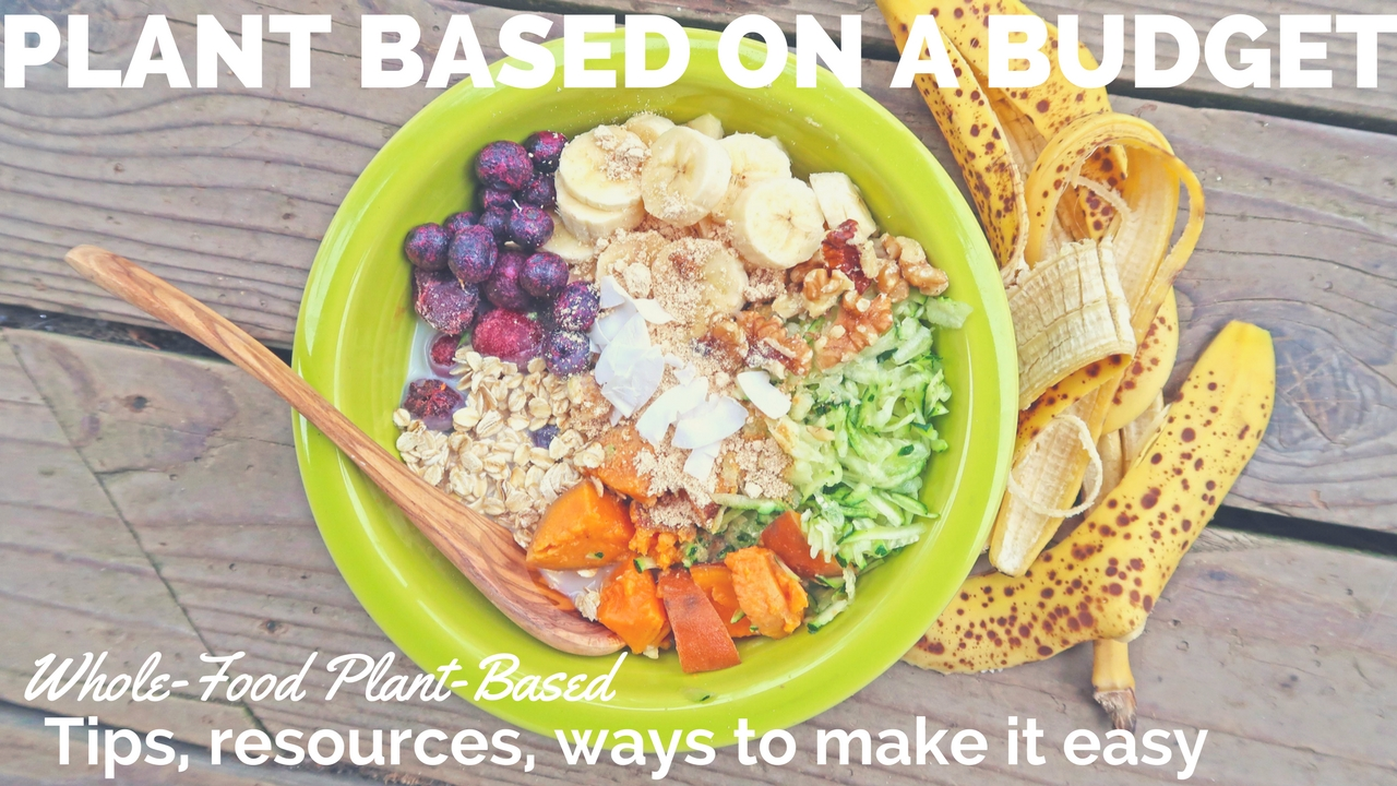 Plant Based on a Budget {Tips, Resources, how to make it practical