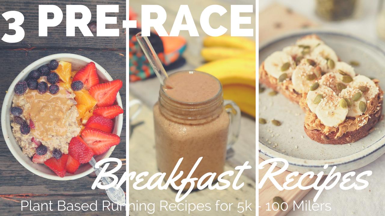 Watch 12 Quick Pre-Run Breakfast Ideas video