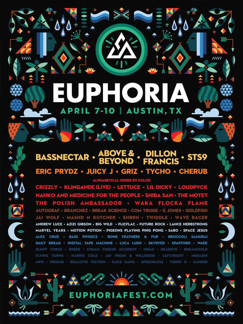 All content is property of Euphoria Music Festival and does not belong to Electric Feels.