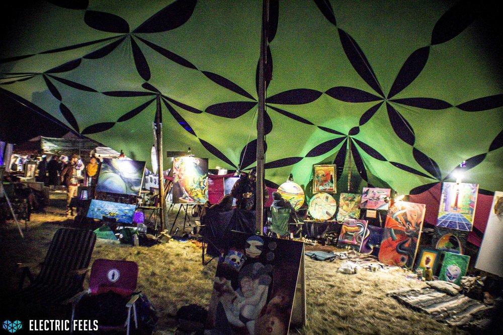 The art gallery overflowwith creativity  Photo Credit: Colin Eldridge