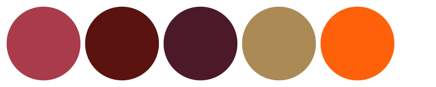 Fall 2017 Wedding Colors