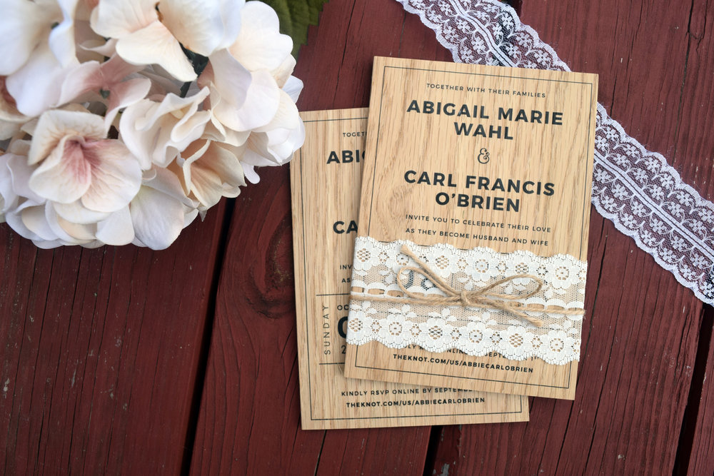 rustic_wedding_invitation_wood_print_lace