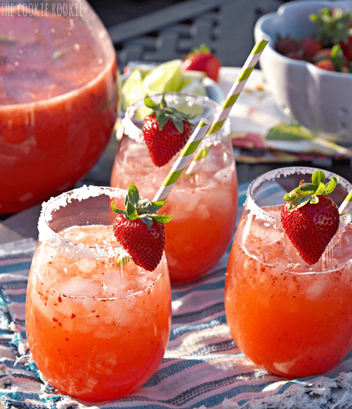 STRAWBERRYMARGARITA PUNCH  -