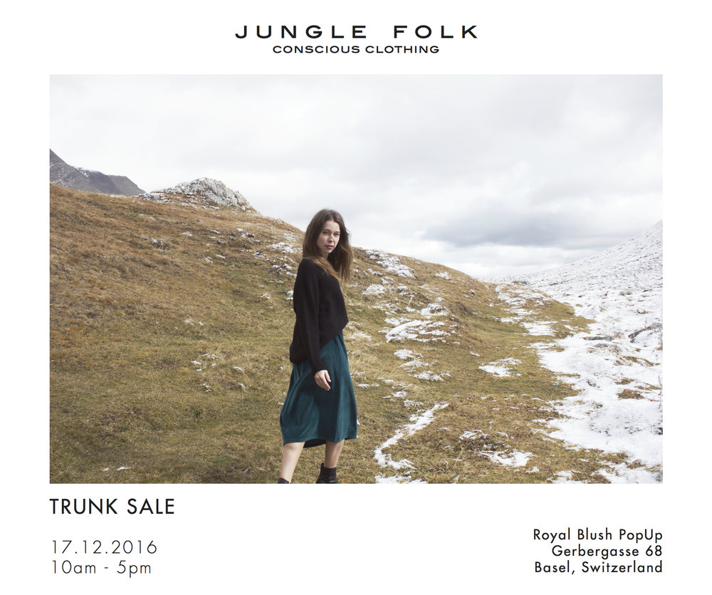 Jungle Folk Trunk Show