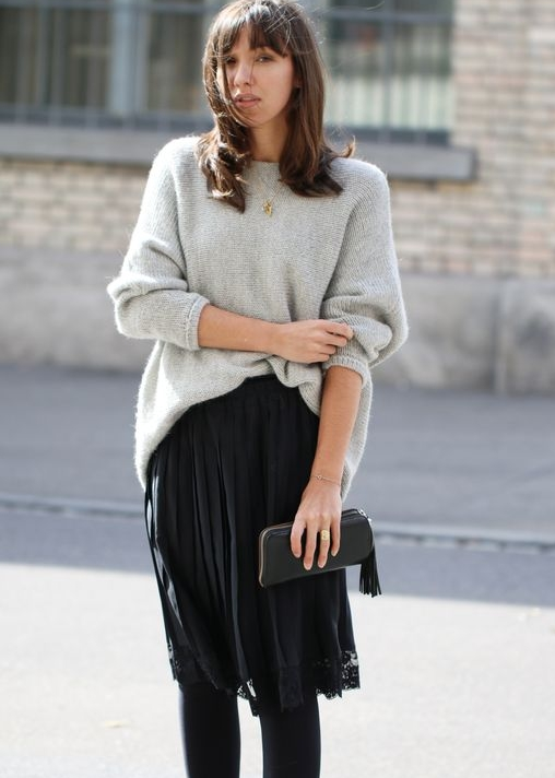 as seen on - beautiful french girl virginie peny wearing the nieve sweater.
