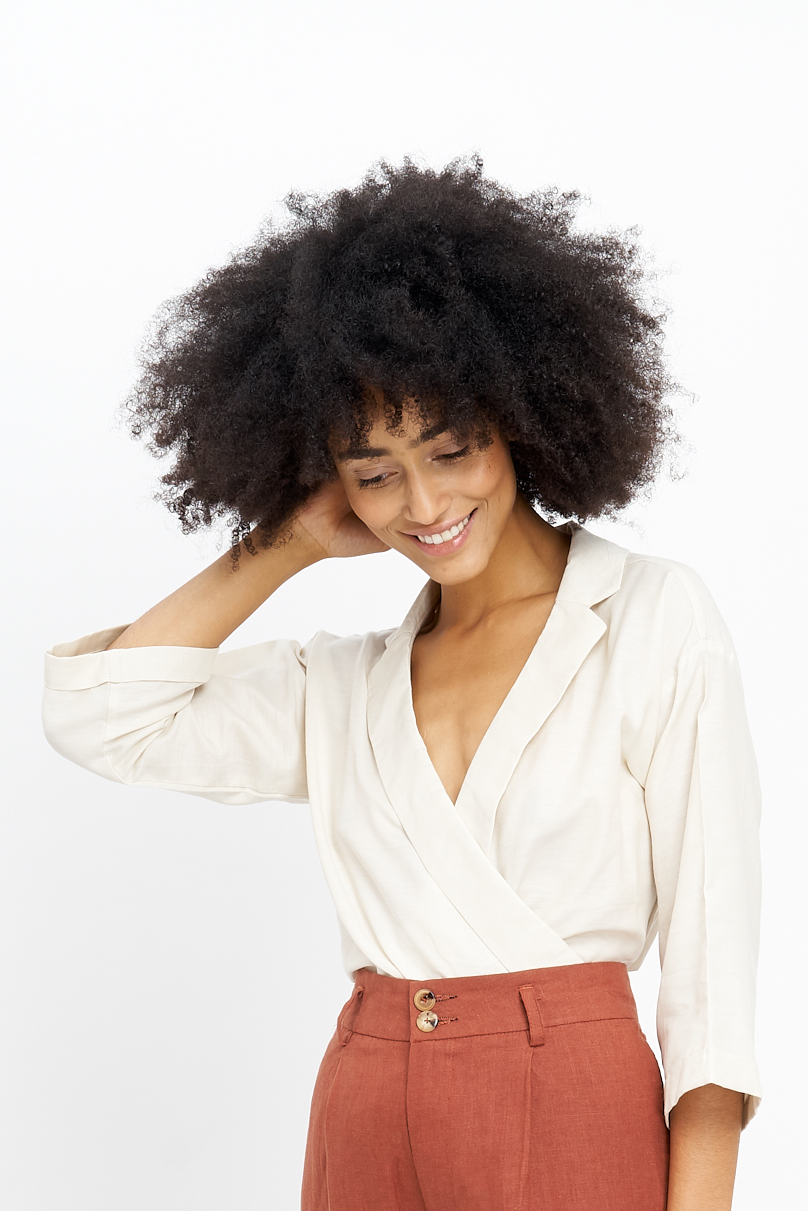 The Marcella Blouse will launch beginning of April. Stay tuned!